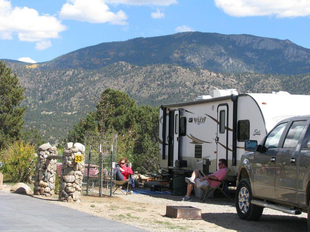 Our Rv Club S Stay Arrowhead Point Resort Buena Vista