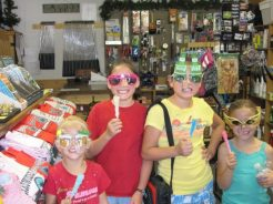 Arrowhead Point Resort kids in camp store
