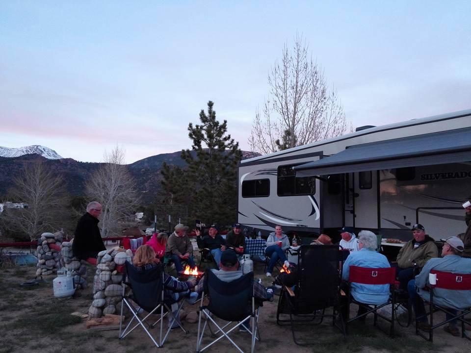 Rv Sites Arrowhead Point Resort Buena Vista Colorado S
