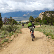 mountain-biking-arrowhead-point-campground-buena-vista-colorado